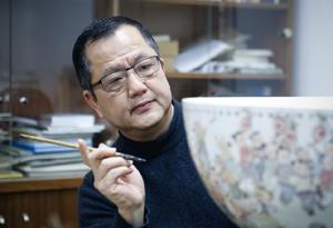 蔡秋權:傳承中謀發展 創作現代陶瓷藝術作品