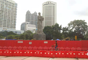 海珠廣場圍了8年才解封,4年後又被圍蔽施工