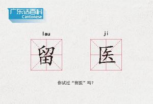 """廣東話百科:留醫(你試過""""留醫""""嗎?)"""