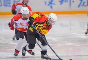 12支球隊齊聚深圳龍崗 角逐廣東省青少年冰球錦標賽