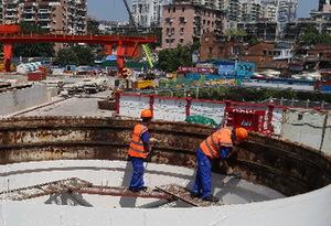 廣州地鐵八號線北延段全線隧道貫通