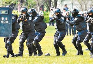 梅州公安全警實戰大練兵
