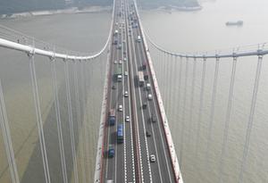 虎門大橋8月16日起限制貨車及40座以上客車通行