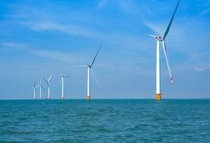廣東首個接入220千伏係統的海上風力發電場並網發電