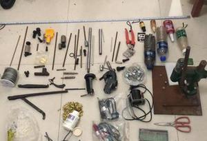 廣東警方搗毀一制販槍支團夥 抓獲16名犯罪嫌疑人