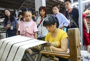 佛山南海絲廠建成廣東首個蠶桑絲織研學基地
