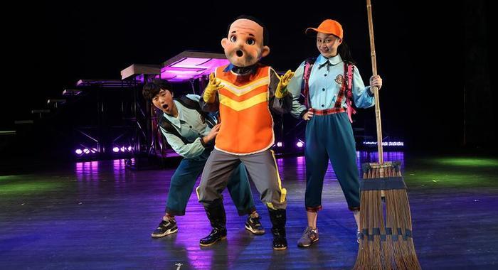廣州原創木偶劇《垃圾大戰》獲五項大獎