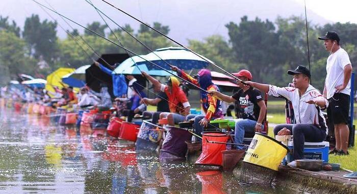 廣州:2019千人垂釣活動六區齊開釣