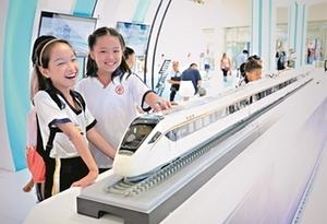 六百師生參觀海絲博覽會