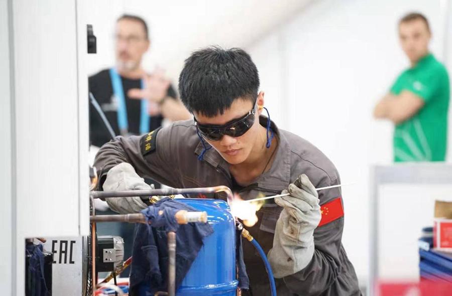 制冷與空調項目選手