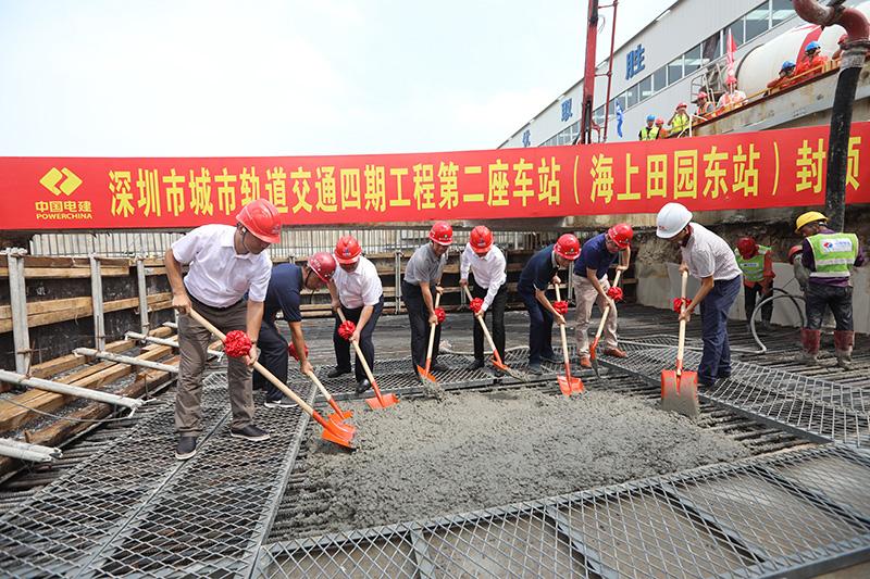 深圳地鐵12號線預計2022年建成通車
