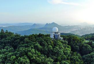 韶關這片綠:中國最美