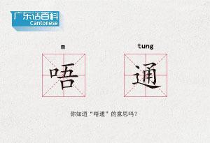 """廣東話百科:唔通(你知道""""唔通""""的意思嗎?)"""