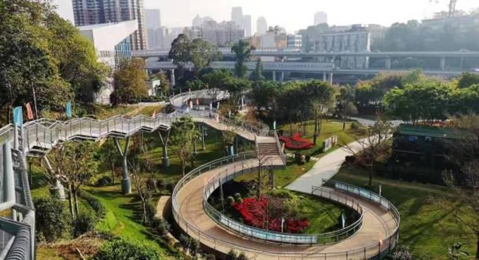 """廣州""""雲道""""串起 八大城市公園"""