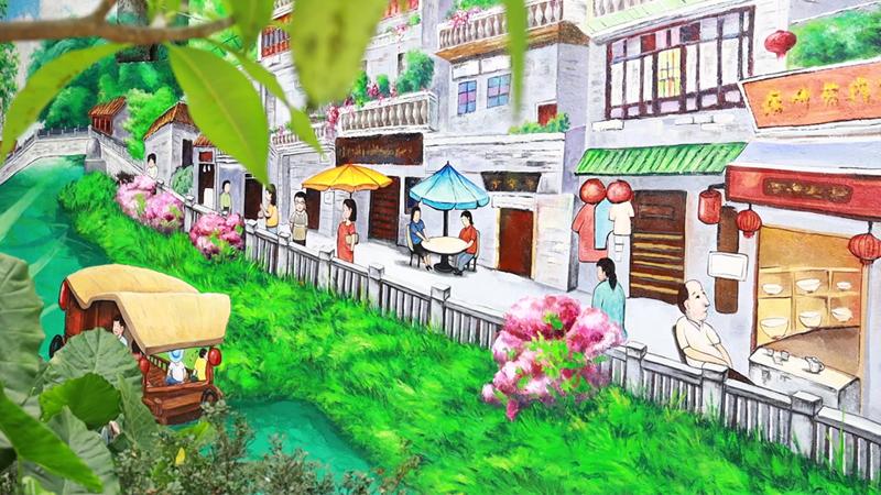 """這條街披""""新彩衣"""",繪出鄰裏幸福時光"""