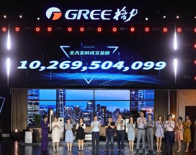 """""""數""""立信心丨格力618直播銷售額突破100億元 助力打造""""智能·健康舒適家"""""""