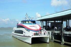 廣深首條水上高速客運航線正式開通
