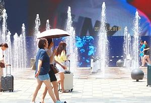 37.7℃ 廣州啟動高溫天氣防禦應急機制