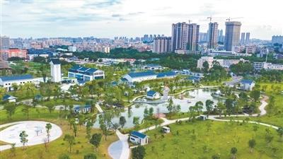 穗建成9座地埋式污水處理廠