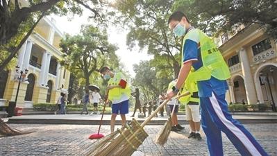 5個廣州人1個是志願者