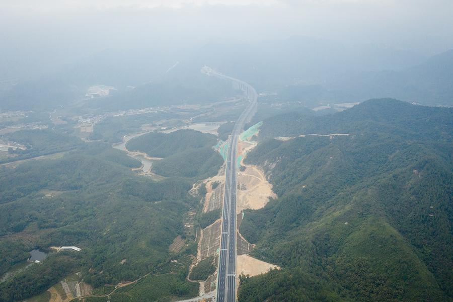 開春高速江門段通車在即