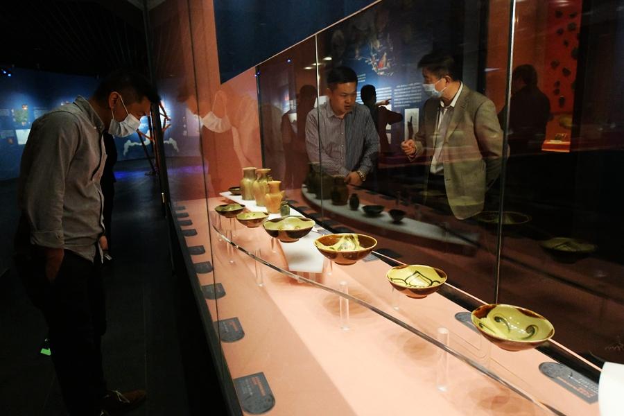 """觀""""泛海淩波"""" 看9世紀以廣府為中心的貿易陶瓷"""