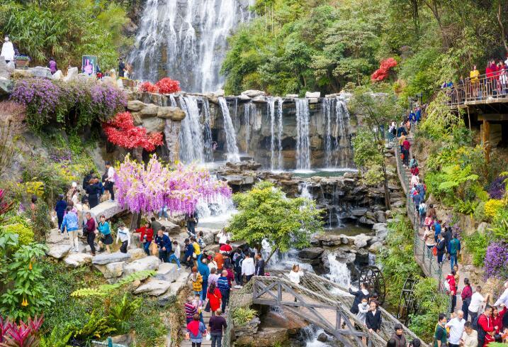 廣東:自然生態賞花民俗類的景區登上熱榜