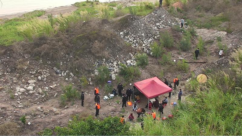 直播大灣區丨水陸空合圍 廣州南沙警方搗毀一野外賭場