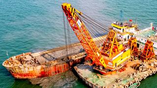 進港航道升級 助力陽江港口建設加速發展