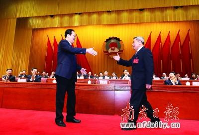 广东省政协5位新领导亮相 - 人和 - wangziwenbj 的博客