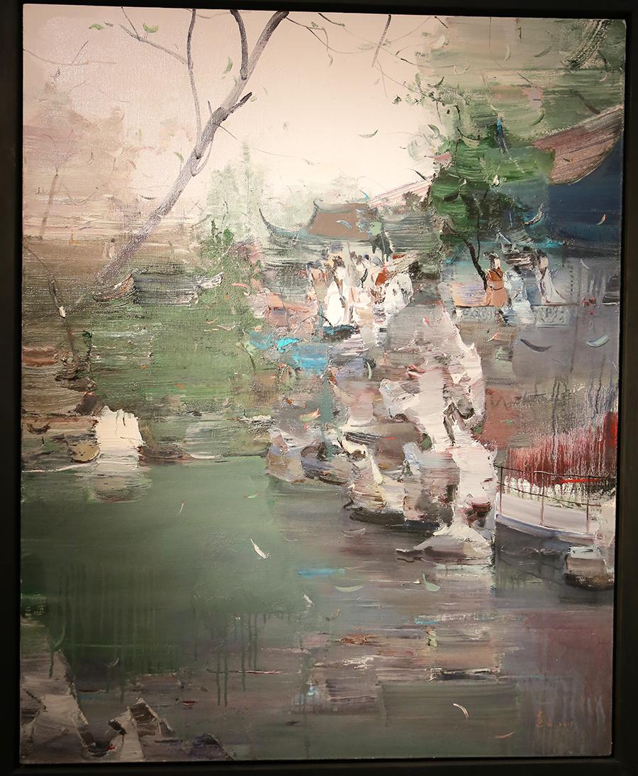 段远文《故园》油画 2011年