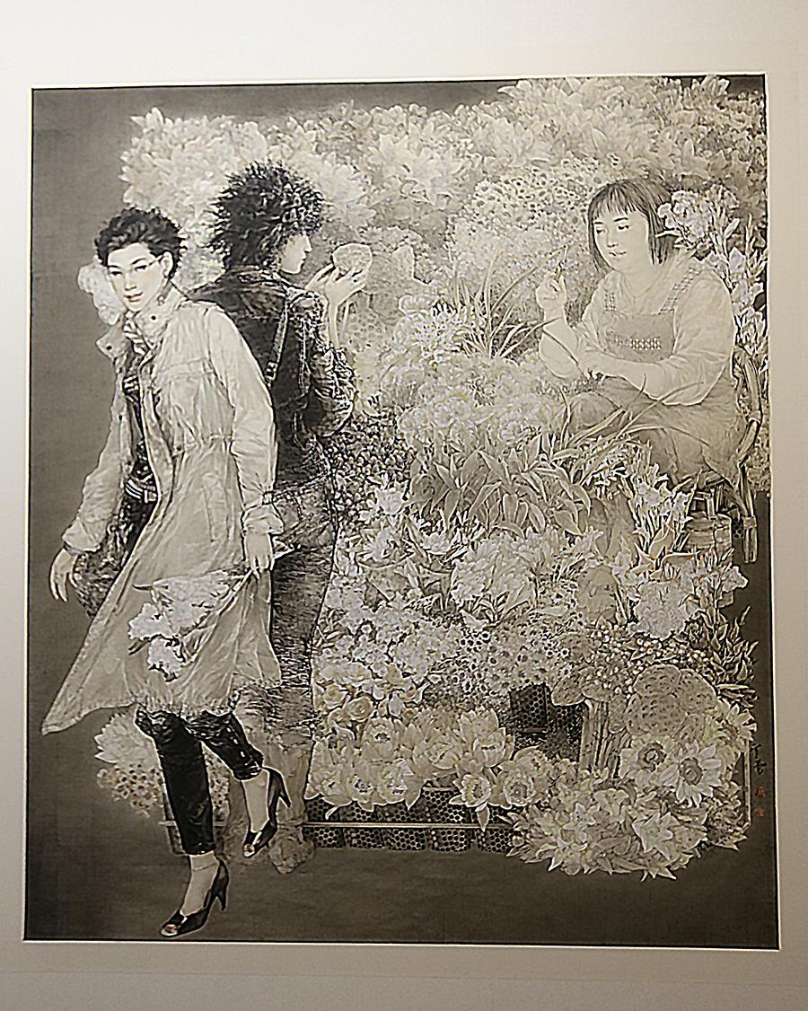 罗寒蕾 《日日是好日》 2009年 中国画